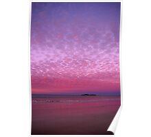 Fairy Floss Sunset Poster