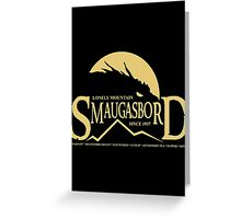 Smaugasbord Greeting Card