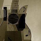 Cubism Guitar by aelend