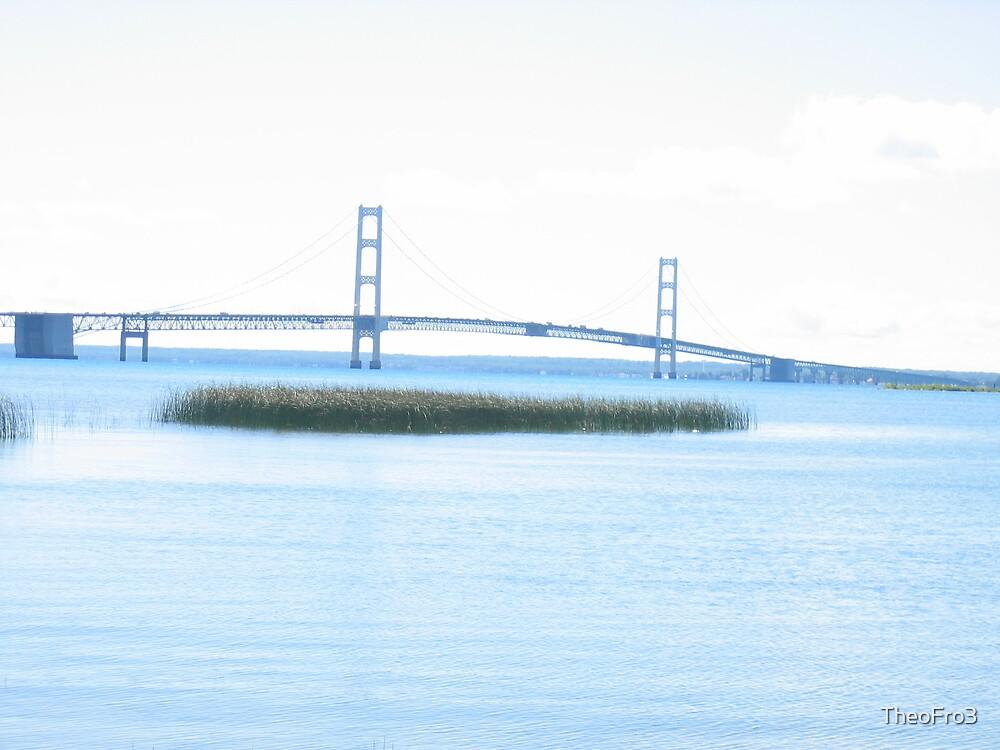 Macinac Bridge by TheoFro3