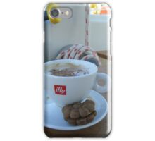 Cappuccino time on Sailboat #illy iPhone Case/Skin