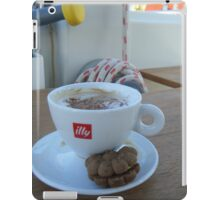 Cappuccino time on Sailboat #illy iPad Case/Skin