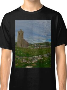 Glencolmcille Panorama with Church Classic T-Shirt