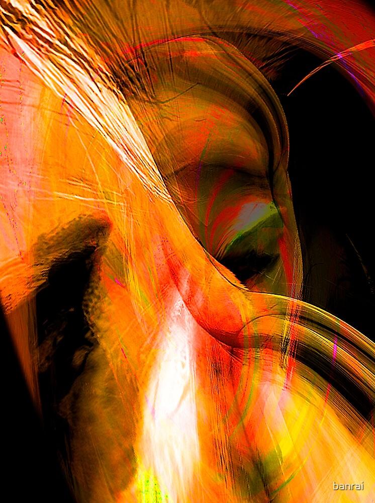 quiet sad passion..... by banrai