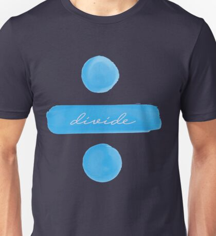 Ed Sheeran DIVIDE album Unisex T-Shirt