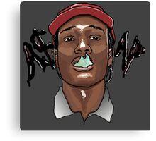 A$AP ROCKY - SMOKE Canvas Print