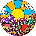 Sun Mushrooms by Octavio Velazquez