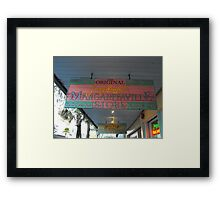 Key West Jimmy Buffet Margaritaville Store Framed Print