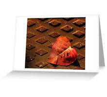 Broken hearted Greeting Card
