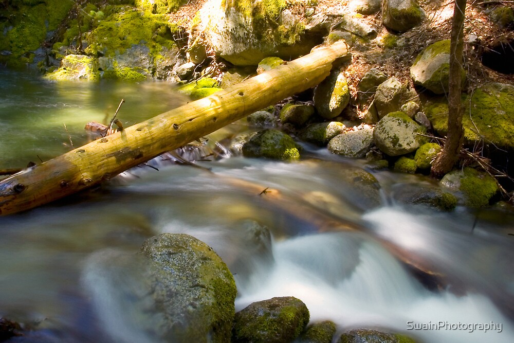 Boulder Creek 2 by SwainPhotography