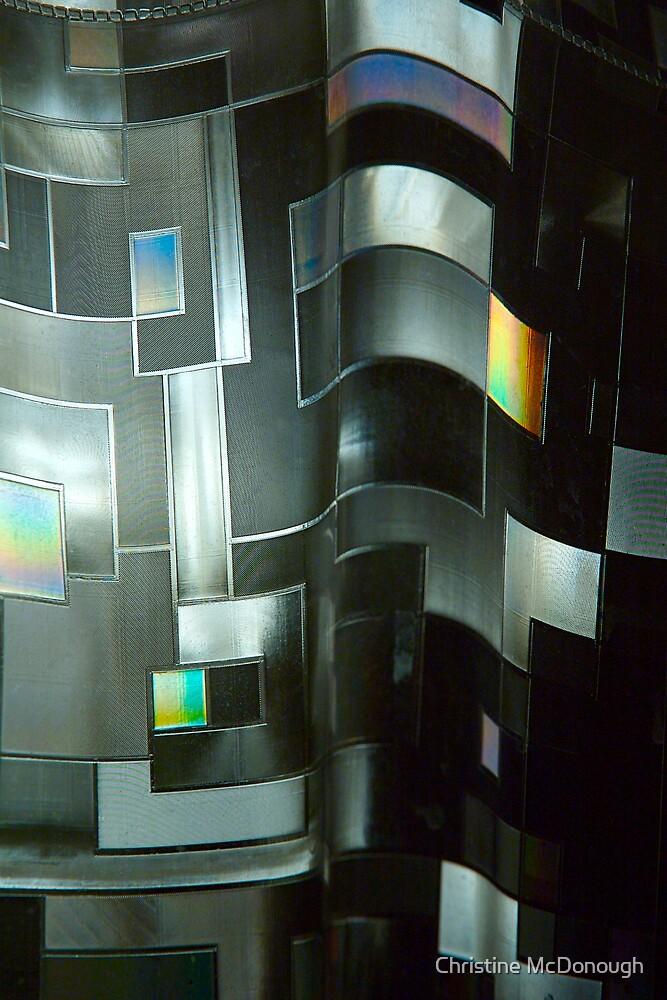 chromium folds by Christine McDonough