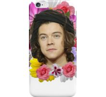 Harry Styles - Floral iPhone Case/Skin