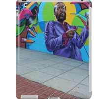 Marvin Gaye -- The New Hometown Mural iPad Case/Skin