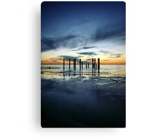 Twilight at Port Willunga Canvas Print