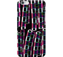 Abstract Square and Line Illustration iPhone Case/Skin
