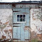 Old Horse Stable Door by David Lamb
