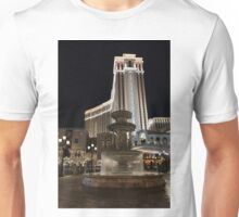 Night Glow at the Venetian Las Vegas Unisex T-Shirt
