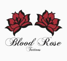Blood Rose Tattoos by Retrograde Designs