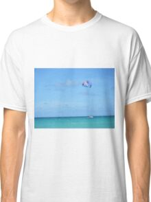 Miami parasailing on the ocean Classic T-Shirt