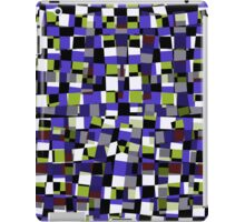 Abstract Squares Illustration as Design Element iPad Case/Skin
