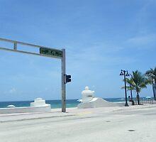 SR A1A Fort Lauderdale Beach, Florida by SlavicaB
