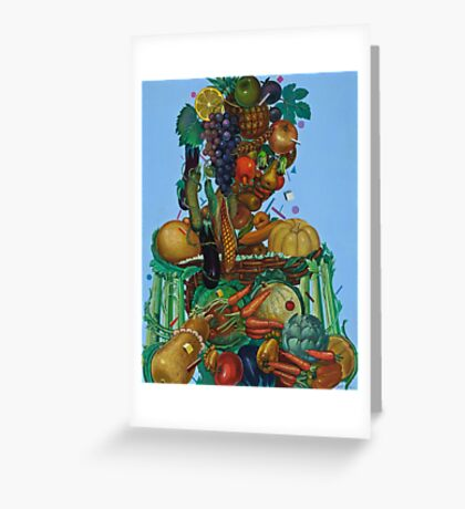 Organic Madonna Greeting Card