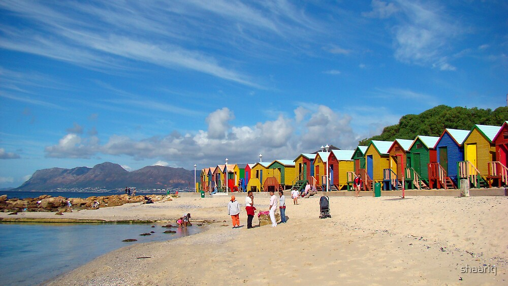 Beach Huts by shaariq