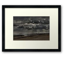 The Rain's Coming Framed Print