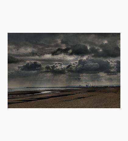 The Rain's Coming Photographic Print