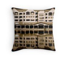 Lakeshore Serenity Throw Pillow