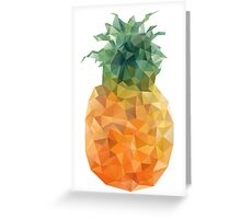 Pineapple Triangles Greeting Card