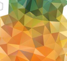 Pineapple Triangles Sticker