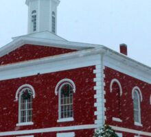 Iron County Courthouse Dressed for Christmas Sticker