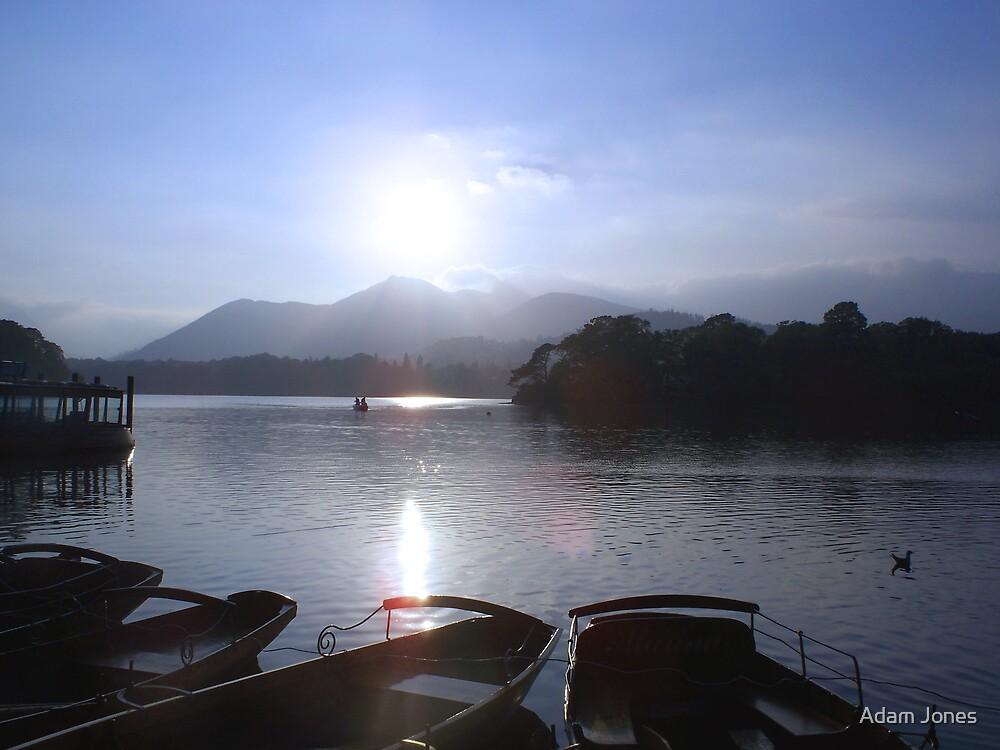 Derwent With Boats by Adam Jones