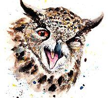 Owl by AnnaShell