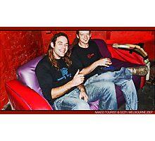 dj Iguana (Naked Tourist/Germany) & Ozzy (Tribeadelic/Australia) Photographic Print