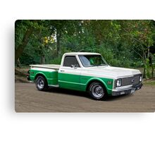 1971 Chevrolet C10 Stepside Pickup 2 Canvas Print