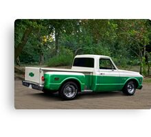 1971 Chevrolet C10 Stepside Pickup 1 Canvas Print