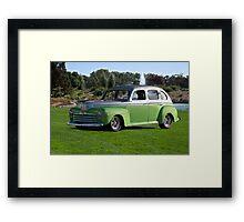 1947 Ford Tudor Sedan Framed Print