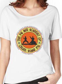 Pai Mei Academy (Light Background) Women's Relaxed Fit T-Shirt