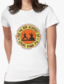 Pai Mei Academy (Light Background) Womens Fitted T-Shirt