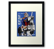 Gundam  Framed Print