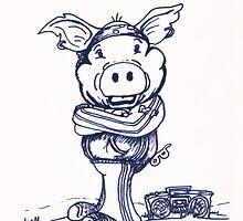 Mofo Pig by Caroline Munday