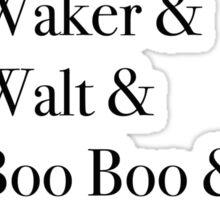 JD Salinger's Glass Family Sticker