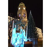 Christmas in Barnsley Photographic Print
