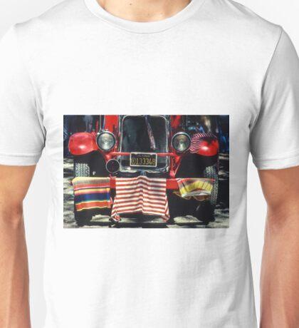 Fire Truck, 4th of July Celebration, Cloverdale, Sonoma Co., CA Unisex T-Shirt