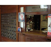 Inside a rural Post Office Photographic Print
