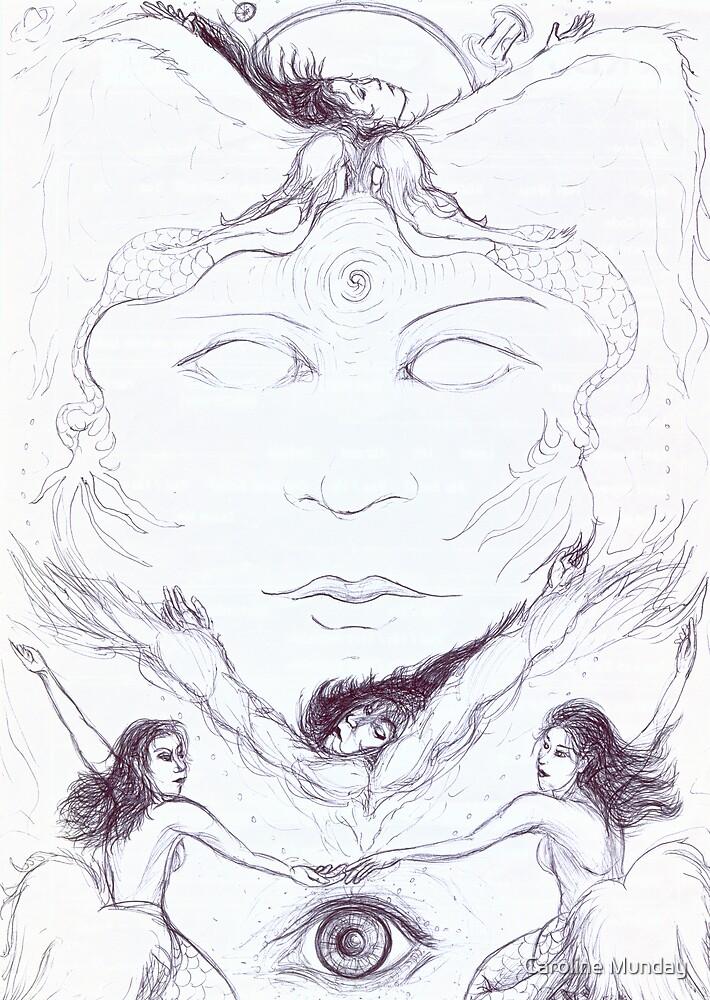 Angels and Mermaids by Caroline Munday