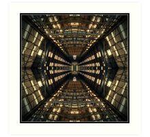 The Industrial maze Art Print
