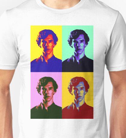 Warhol's Sherlock/Benedict Cumberbatch  Unisex T-Shirt